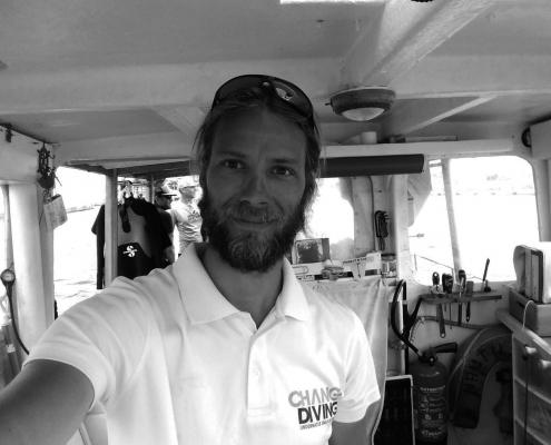 Marick moniteur plongée sous marine Chango Diving Nice