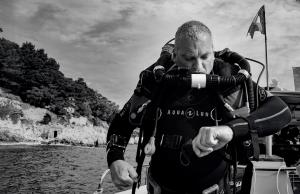 Olivier - Moniteur de plongée sous marine chango diving Nice